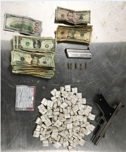 Multiple drugs and weapons found in Frederica - Delaware