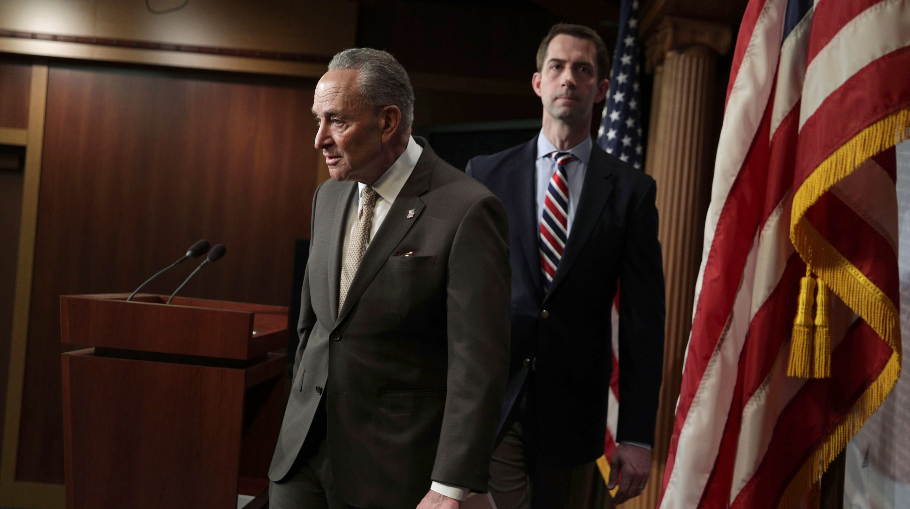 China fentanyl trafficking calls for tough sanctions: Schumer & Cotton