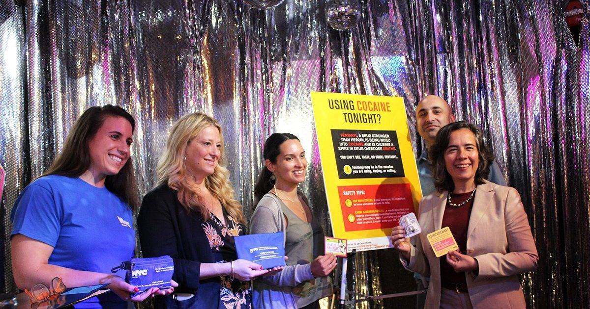 City Launches Campaign in Bushwick Clubs to Warn About Fentanyl-Laced Cocaine