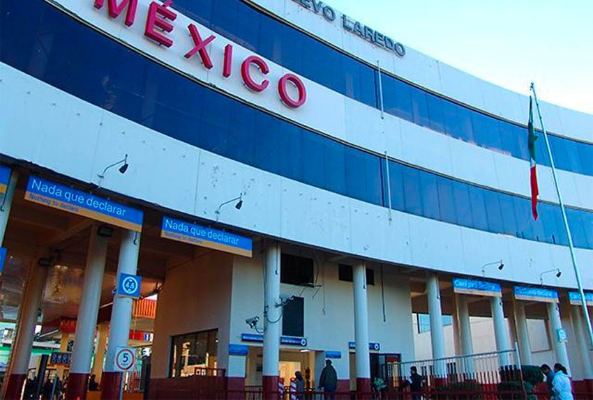 The Nuevo Laredo customs office is the busiest in Mexico.