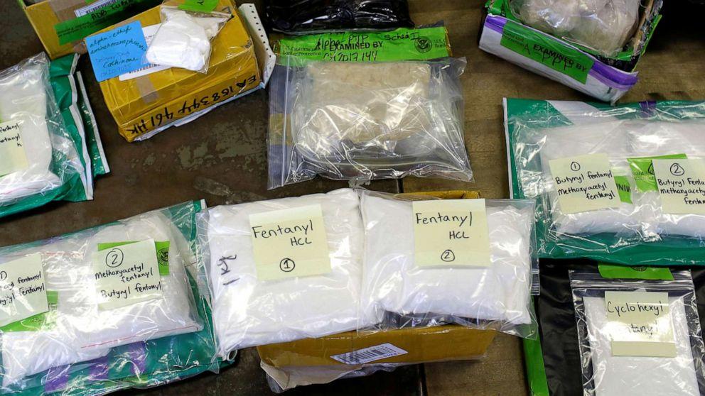 DOJ issues plea to Congress in battle against fentanyl copycats